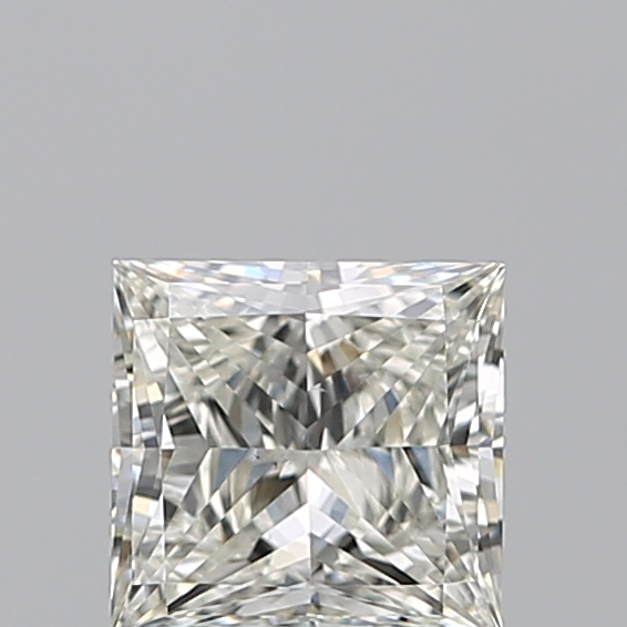 1.00 Carat Princess Loose Diamond, I, VS2, Excellent, GIA Certified