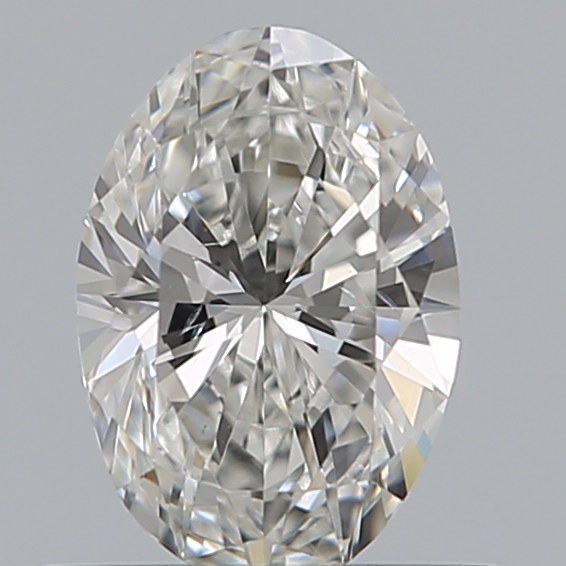 0.50 Carat Oval Loose Diamond, G, SI1, Excellent, GIA Certified