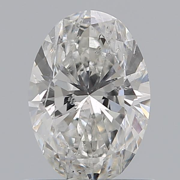 0.75 Carat Oval Loose Diamond, G, SI2, Ideal, GIA Certified