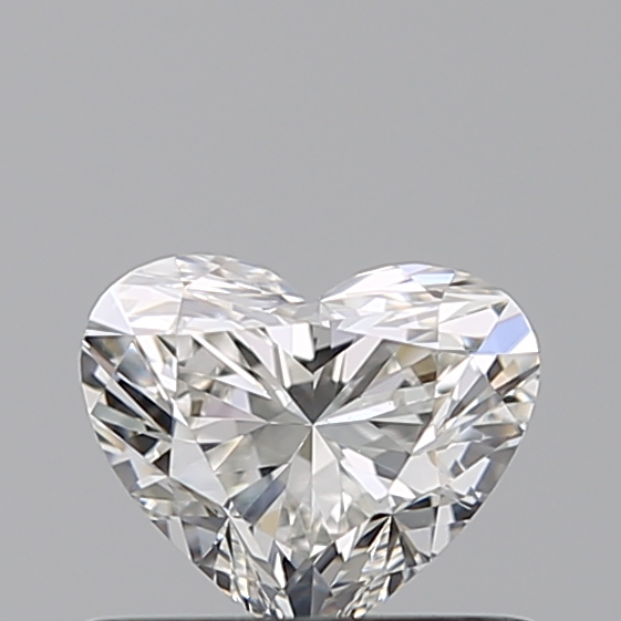 0.46 Carat Heart Loose Diamond, G, VVS1, Ideal, GIA Certified