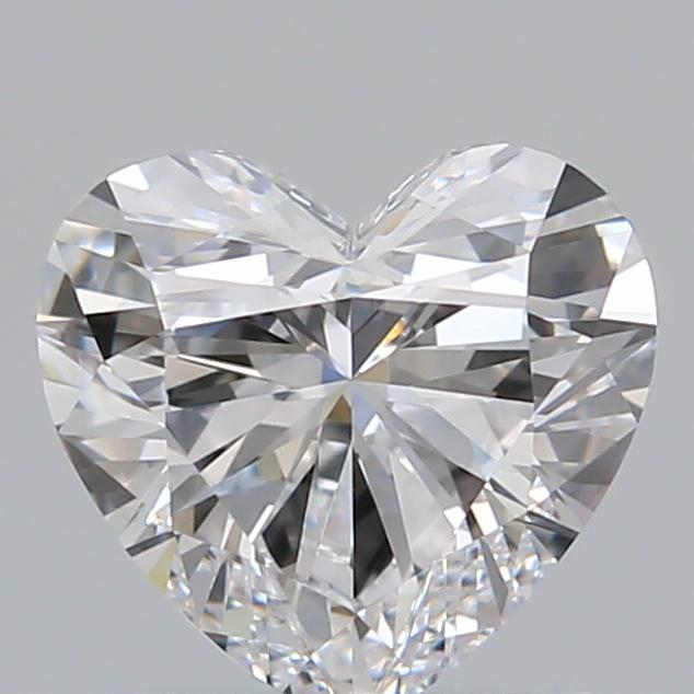 0.83 Carat Heart Loose Diamond, D, IF, Super Ideal, GIA Certified