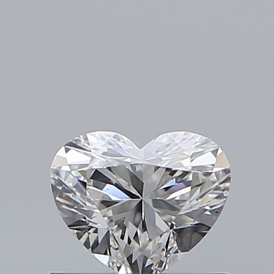 0.42 Carat Heart Loose Diamond, E, VVS2, Ideal, GIA Certified