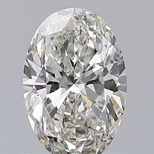 0.65 Carat Oval Loose Diamond, I, SI2, Ideal, GIA Certified