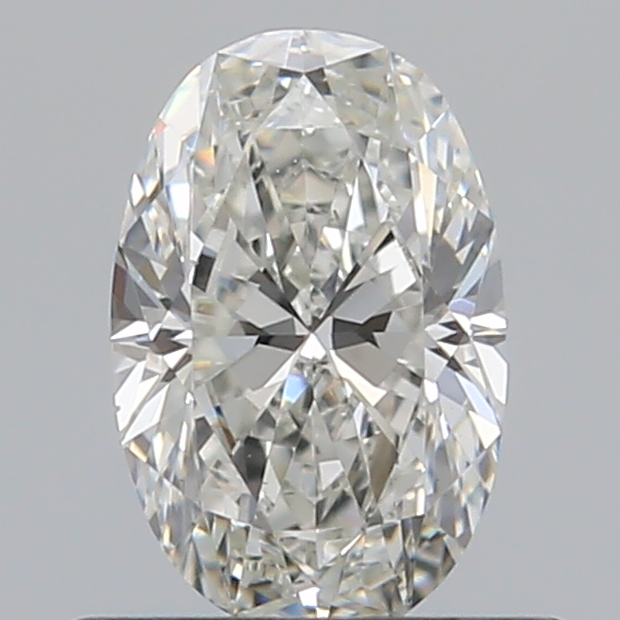 0.51 Carat Oval Loose Diamond, H, VS1, Ideal, GIA Certified | Thumbnail