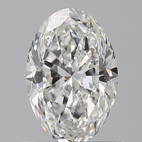 0.70 Carat Oval Loose Diamond, F, SI2, Super Ideal, GIA Certified | Thumbnail