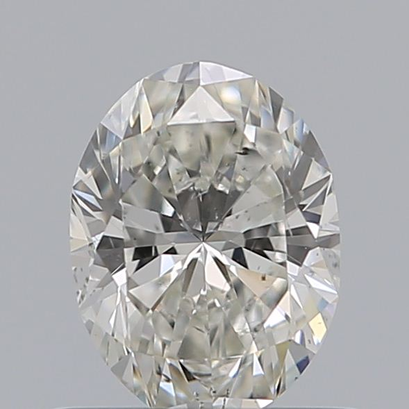 0.51 Carat Oval Loose Diamond, G, SI1, Ideal, GIA Certified