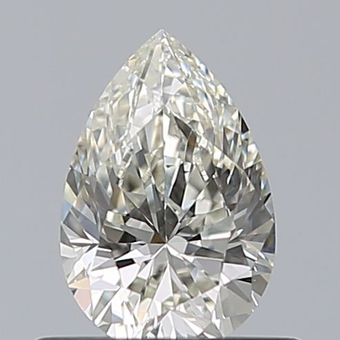 0.50 Carat Pear Loose Diamond, J, VS1, Super Ideal, GIA Certified