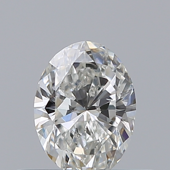 0.30 Carat Oval Loose Diamond, G, SI1, Ideal, GIA Certified