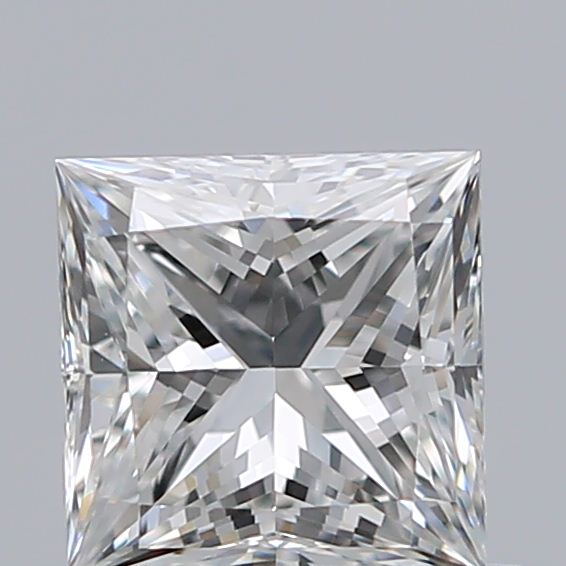 0.53 Carat Princess Loose Diamond, G, VVS2, Super Ideal, GIA Certified