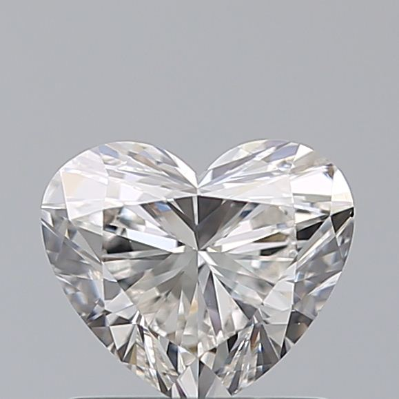 0.80 Carat Heart Loose Diamond, H, VS2, Super Ideal, GIA Certified