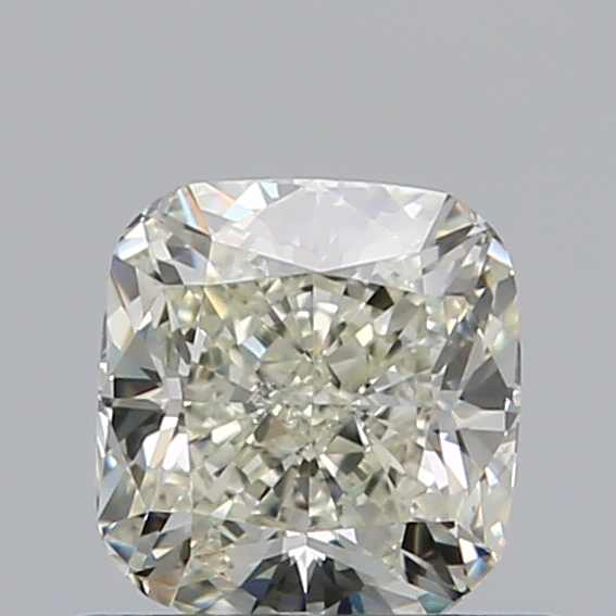 0.58 Carat Cushion Loose Diamond, L, VS2, Ideal, GIA Certified
