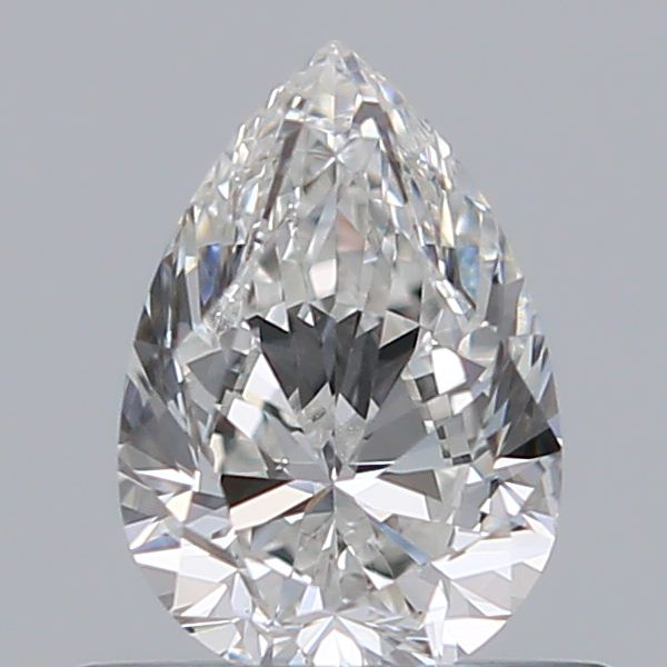 0.50 Carat Pear Loose Diamond, G, VS2, Excellent, GIA Certified