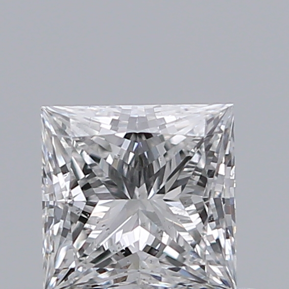 0.43 Carat Princess Loose Diamond, F, SI1, Super Ideal, GIA Certified
