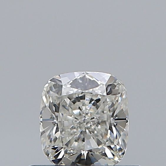 0.50 Carat Cushion Loose Diamond, H, VS1, Ideal, GIA Certified