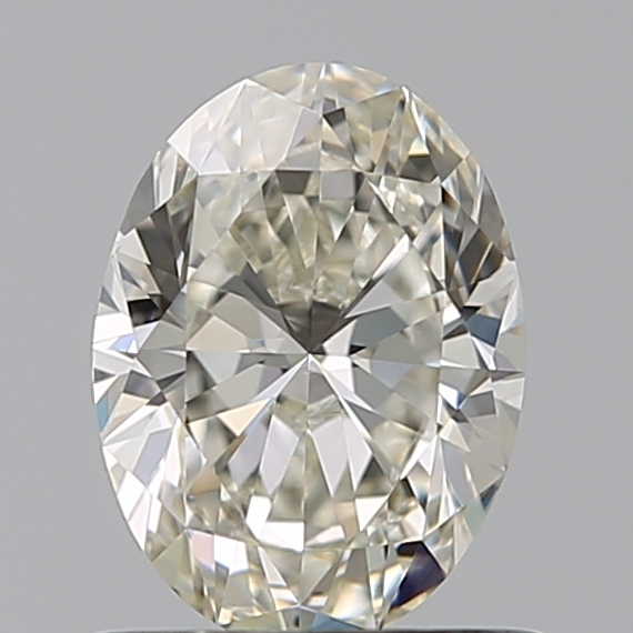 0.73 Carat Oval Loose Diamond, J, VS1, Super Ideal, GIA Certified
