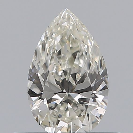 0.31 Carat Pear Loose Diamond, I, VVS2, Ideal, GIA Certified