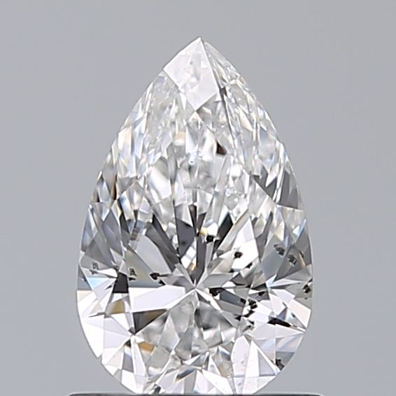 0.77 Carat Pear Loose Diamond, D, SI2, Super Ideal, GIA Certified