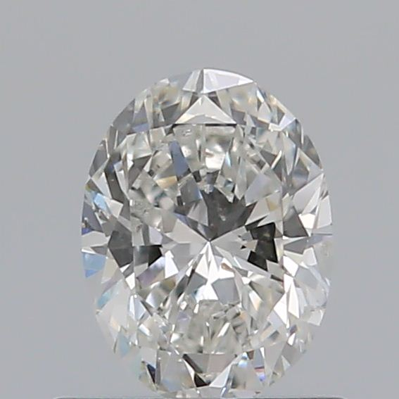 0.52 Carat Oval Loose Diamond, G, SI1, Ideal, GIA Certified | Thumbnail