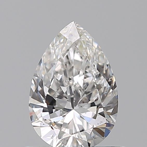0.50 Carat Pear Loose Diamond, F, SI2, Ideal, GIA Certified