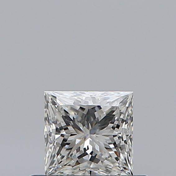 0.40 Carat Princess Loose Diamond, H, VS2, Ideal, GIA Certified