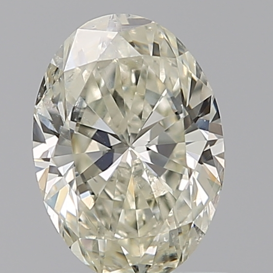 0.80 Carat Oval Loose Diamond, L, SI2, Ideal, GIA Certified | Thumbnail