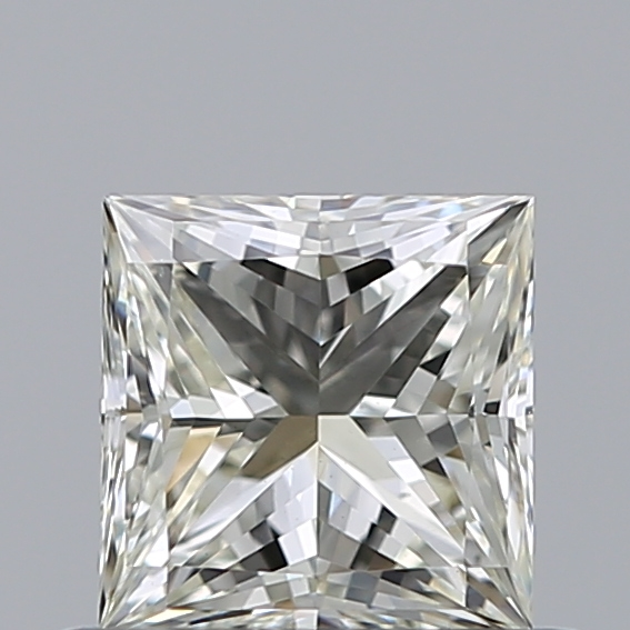 0.52 Carat Princess Loose Diamond, L, VS1, Super Ideal, GIA Certified