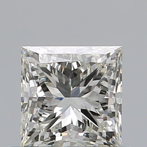0.51 Carat Princess Loose Diamond, K, VS2, Super Ideal, GIA Certified