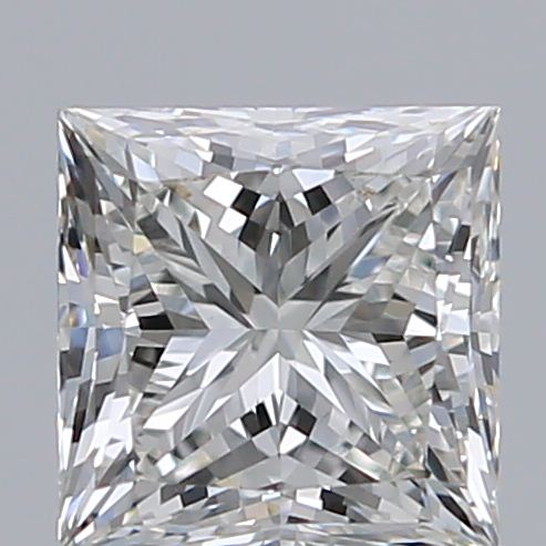 0.82 Carat Princess Loose Diamond, H, VS2, Super Ideal, GIA Certified