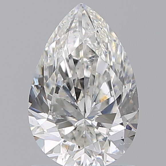 1.00 Carat Pear Loose Diamond, H, SI2, Ideal, GIA Certified