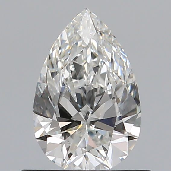 0.52 Carat Pear Loose Diamond, G, VS1, Super Ideal, GIA Certified | Thumbnail