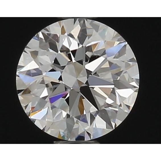 0.43 Carat Round Loose Diamond, F, VS2, Super Ideal, GIA Certified