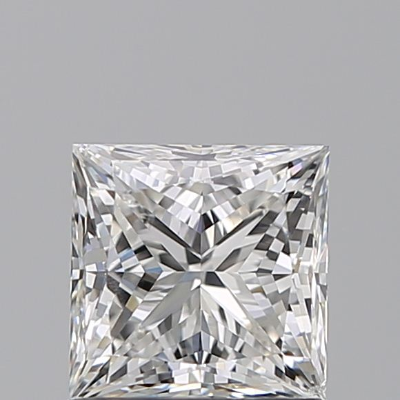 1.00 Carat Princess Loose Diamond, G, SI1, Super Ideal, GIA Certified