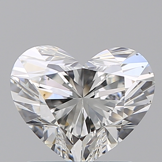 1.03 Carat Heart Loose Diamond, G, VS2, Super Ideal, GIA Certified