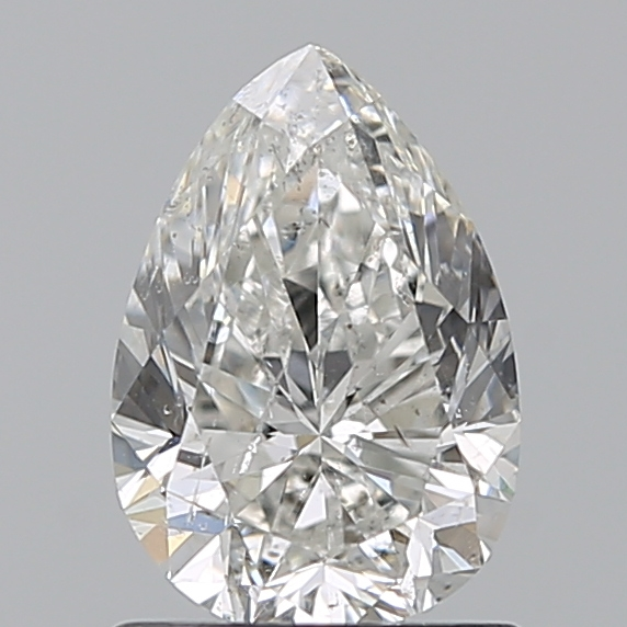 1.00 Carat Pear Loose Diamond, H, SI2, Excellent, GIA Certified