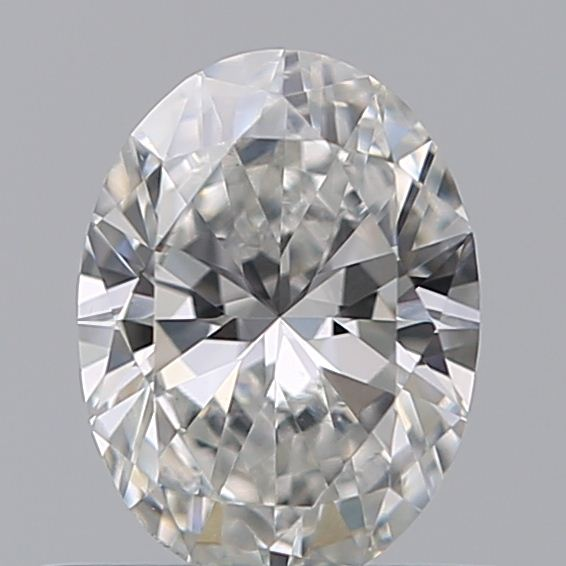 0.42 Carat Oval Loose Diamond, F, VS2, Ideal, GIA Certified