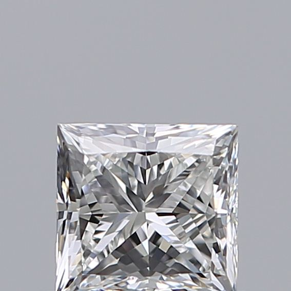 0.50 Carat Princess Loose Diamond, F, VS1, Super Ideal, GIA Certified