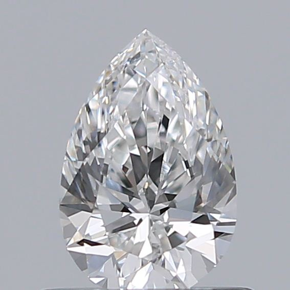 0.51 Carat Pear Loose Diamond, E, VS1, Ideal, GIA Certified