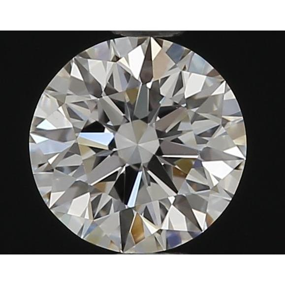 0.51 Carat Round Loose Diamond, F, VS2, Super Ideal, GIA Certified