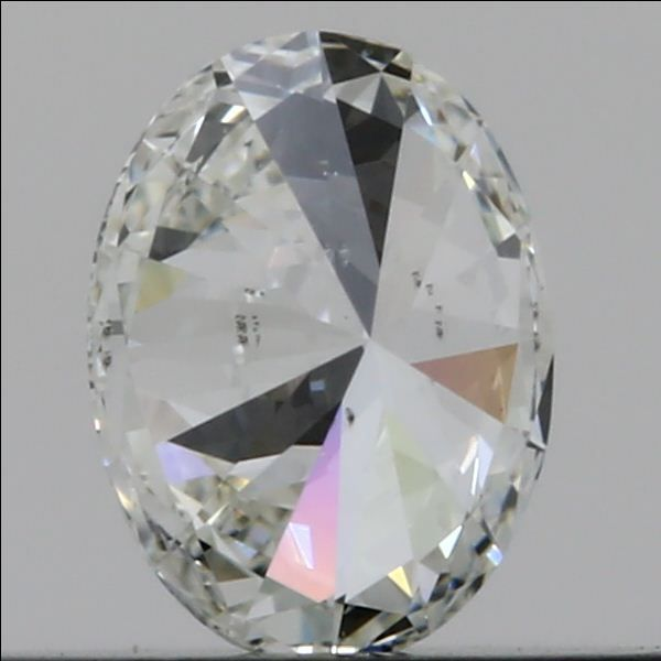 0.54 Carat Oval Loose Diamond, I, VS2, Super Ideal, GIA Certified | Thumbnail