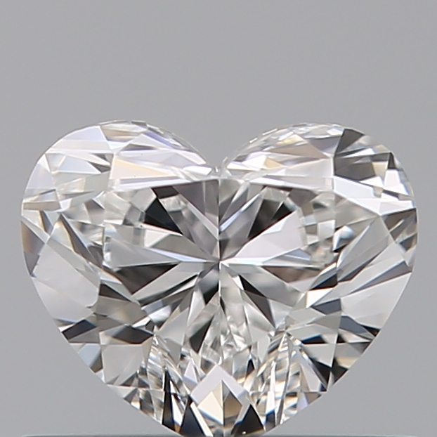 0.48 Carat Heart Loose Diamond, F, VVS2, Ideal, GIA Certified