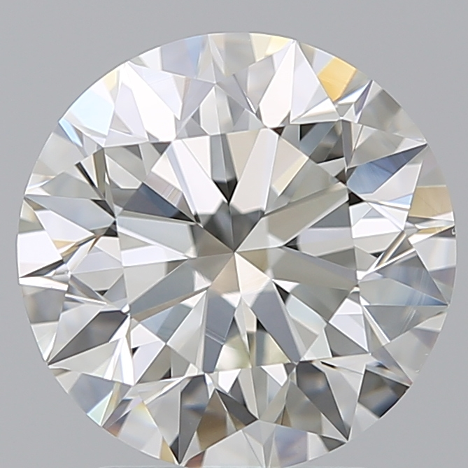 2.71 Carat Round Loose Diamond, I, VS1, Super Ideal, GIA Certified