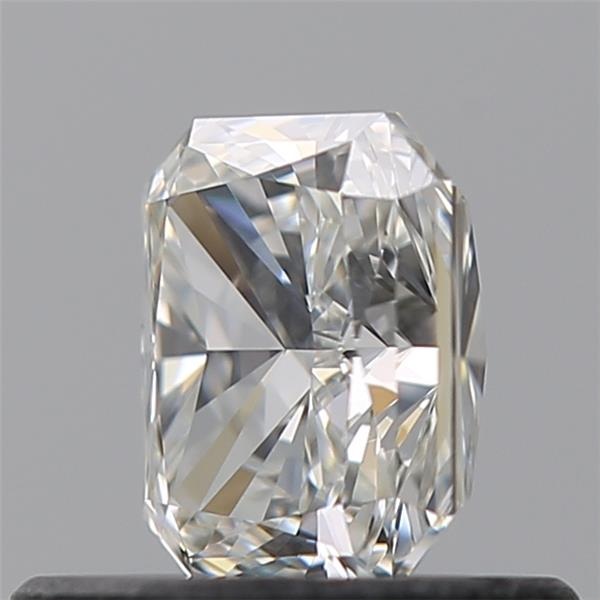 0.54 Carat Radiant Loose Diamond, H, VVS1, Super Ideal, GIA Certified