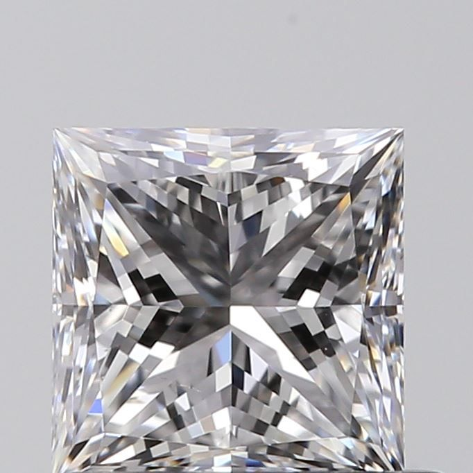 0.70 Carat Princess Loose Diamond, D, VS2, Ideal, GIA Certified