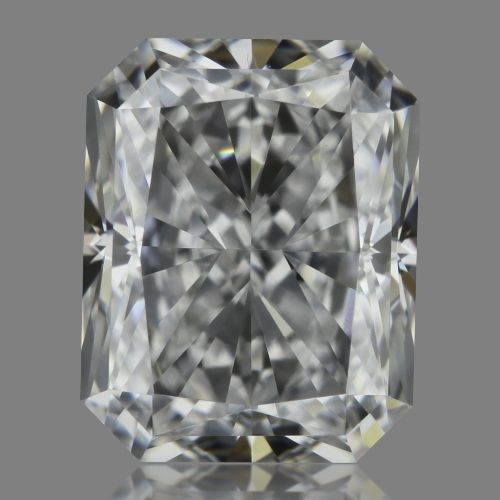 0.51 Carat Radiant Loose Diamond, D, VVS1, Super Ideal, GIA Certified