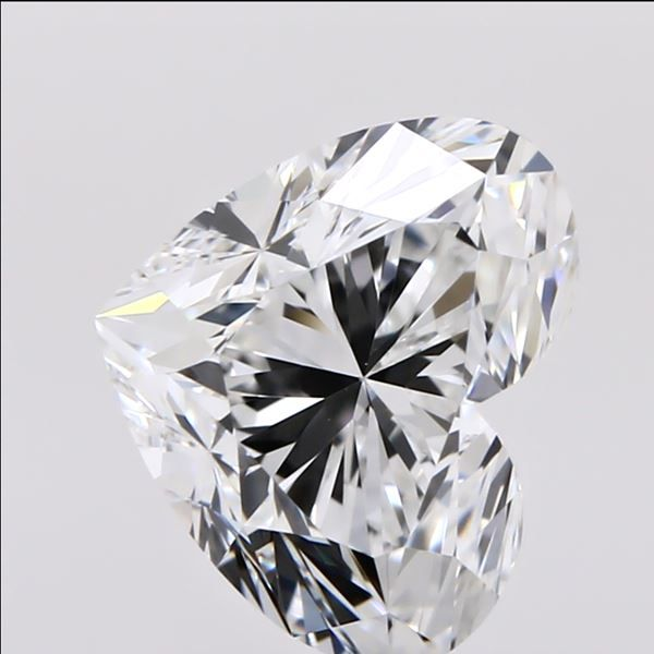 1.00 Carat Heart Loose Diamond, F, VS1, Super Ideal, GIA Certified