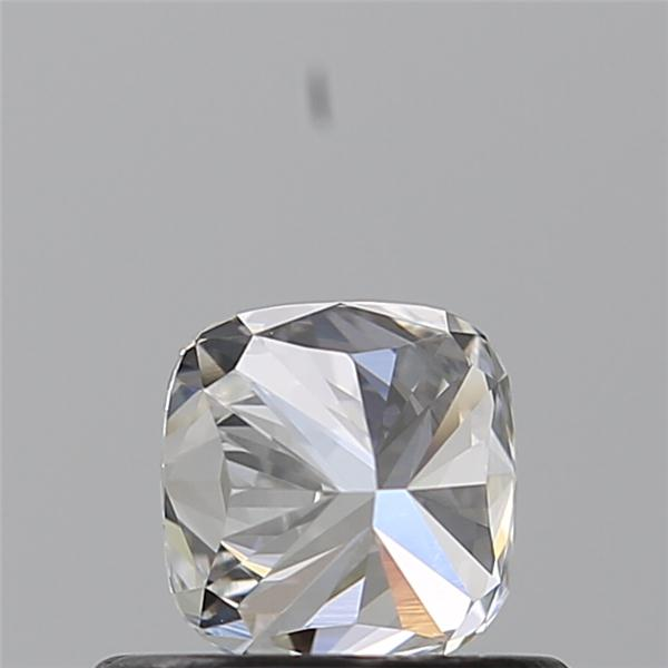 0.52 Carat Cushion Loose Diamond, D, VVS1, Ideal, GIA Certified | Thumbnail