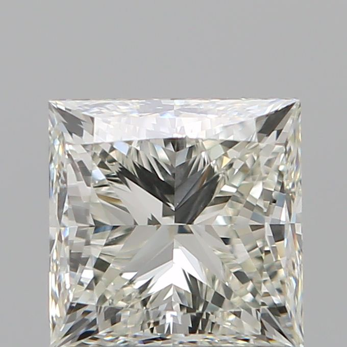 1.00 Carat Princess Loose Diamond, K, VS1, Ideal, GIA Certified