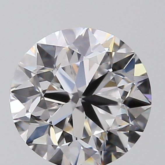 0.60 Carat Round Loose Diamond, D, IF, Very Good, GIA Certified