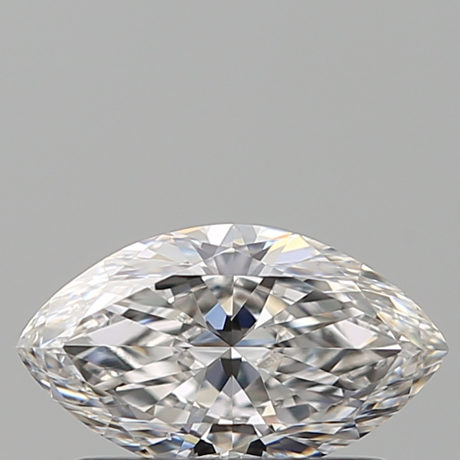 0.50 Carat Marquise Loose Diamond, F, VVS2, Ideal, GIA Certified