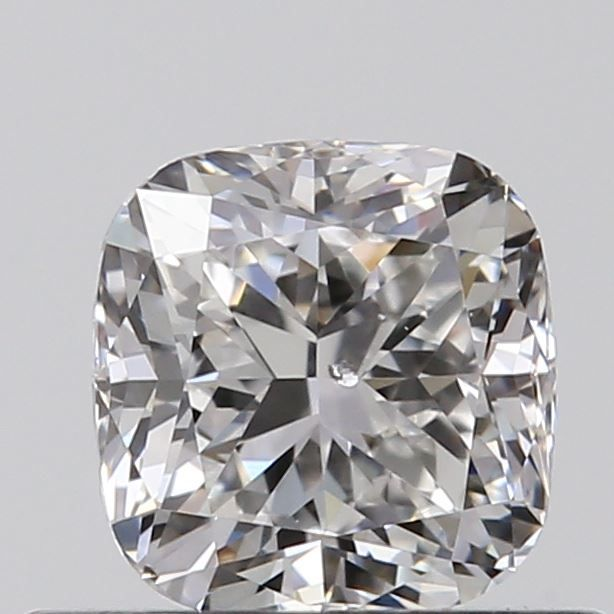 0.50 Carat Cushion Loose Diamond, F, SI2, Excellent, GIA Certified
